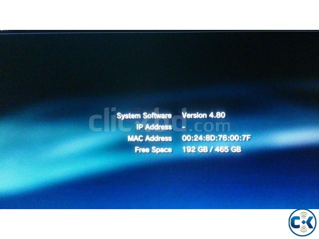 PS3 500 GB modded with the latest 4.80 CFW REBUG | ClickBD large image 2