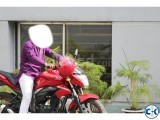 Suzuki gixxed few used red color