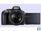 Nikon camera DSLR D5300 has 24.2 megapixel