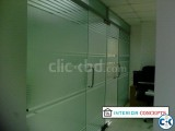 Glass partition with Decoration BDGP-02