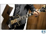 Epiphone les paul black beauty with hard case