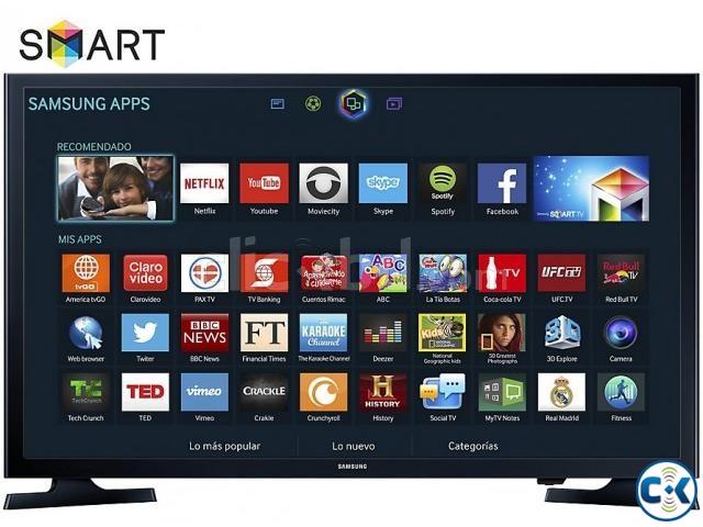 Samsung J4303 32 Inch HD Ready USB Internet Smart LED TV | ClickBD large image 0