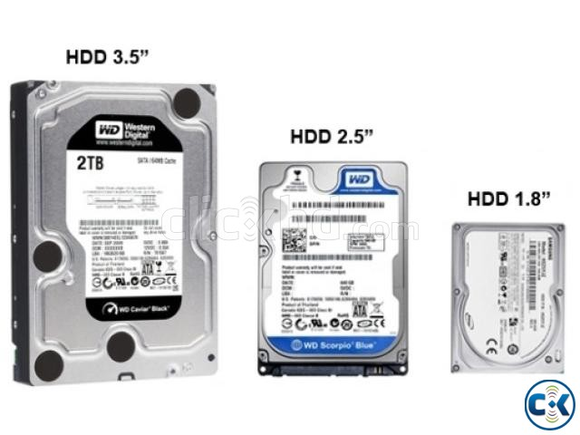 Basic Data Recovery upto 80gb HDD | ClickBD large image 0