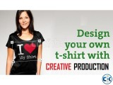 Customize t-shirt printing