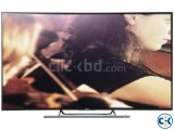 55'' SONY BRAVIA S8500C 4K 3D CURVED LED TV.