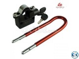 BIKE ALARM LOCK DOUBLE SHACKLE