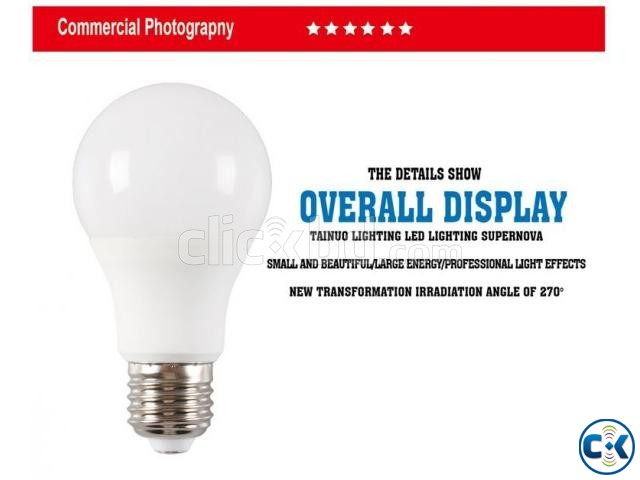 A60 LED Light Bulb_Free Delivery_Whole Sell_01756812104 | ClickBD large image 0