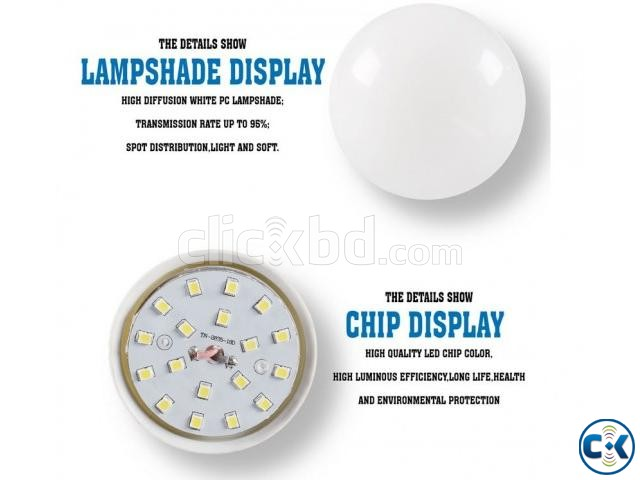 A60 LED Light Bulb_Free Delivery_Whole Sell_01756812104 | ClickBD large image 2