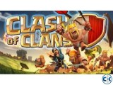 10 ta Clash of clan ID sell korbo
