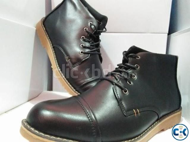 men s high neck boots | ClickBD large image 2