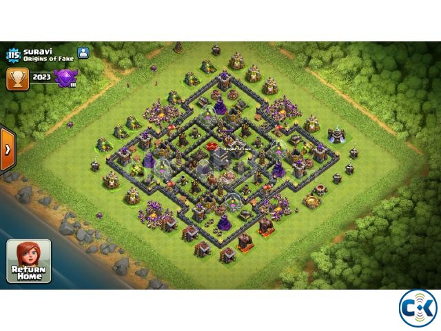 clash of clan id th9 max | ClickBD large image 0