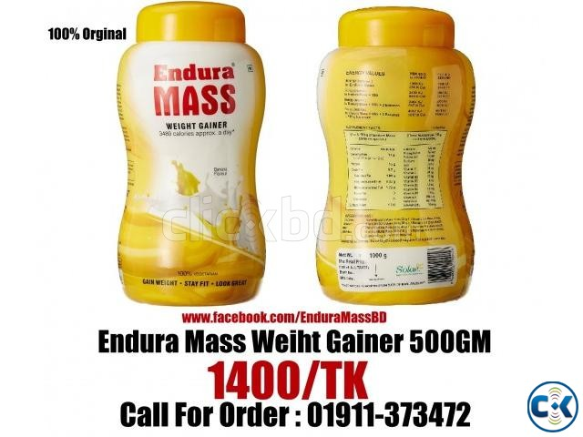 how to drink endura mass
