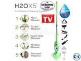 H2O Mop X5 5-in-1 Steamer as seen on tv.