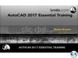 Lynda - AutoCAD 2017 Essential Training