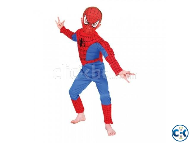 SPIDERMAN MAN DRESS FOR KID | ClickBD large image 1