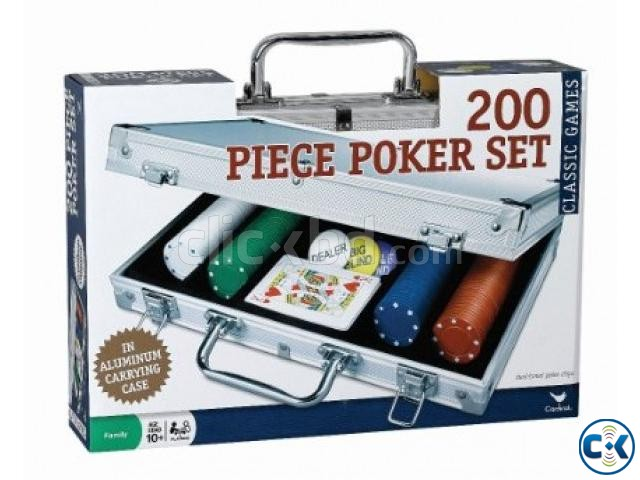 200 pc Poker Set In Aluminum Case | ClickBD large image 0