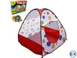 TENT PLAY HOUSE AND PIT BALL SET FOR KID