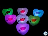 LED ROMANTIC CANDLE ARROW HEART SHAPE