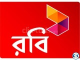 VIP ROBI number sell prize fixed
