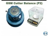 Gsm cutter and Balance package- 2
