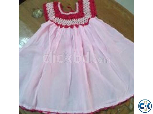 Baby kushi kata dress | ClickBD large image 0