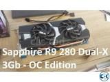 Sapphire R9 280 Dual X OC 3GB