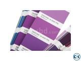 Pantone color guide book TPX