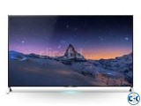 55'' SONY BRAVIA X900C 4K +3D LED INTERNET TV.