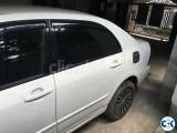 Corolla X limited 2002 model