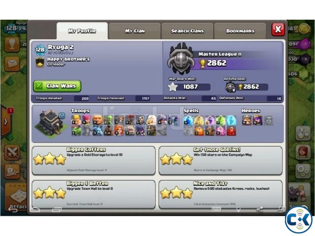 Clash of Clans-Th9 full max | ClickBD large image 0