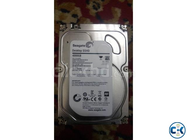Seagate 4TB SSHD SATA Hard Disk HDD | ClickBD large image 0