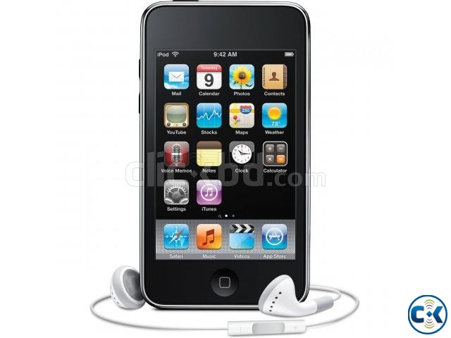Apple iPod touch 3rd Generation Black 32GB | ClickBD large image 0