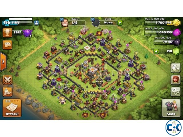 Clash of clans Th11 semi max  | ClickBD large image 0