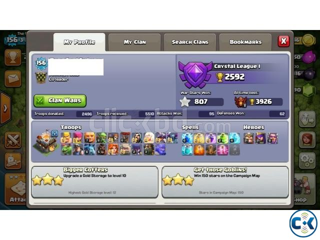 Clash of clans Th11 semi max  | ClickBD large image 1