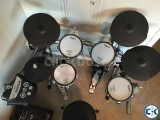 Roland TD-6V electronic drum set.