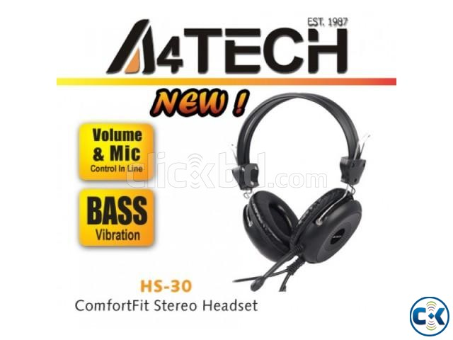 A4Tech HS-30 Headset | ClickBD large image 1