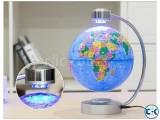 Anti Gravity World Map Globe with light