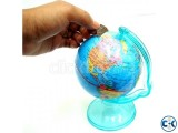Money Saving Globe World Map with Stand