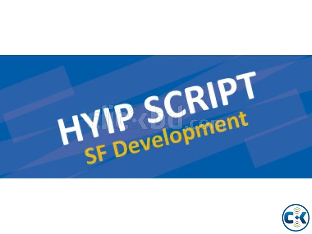 hyip Script Selling | ClickBD large image 0