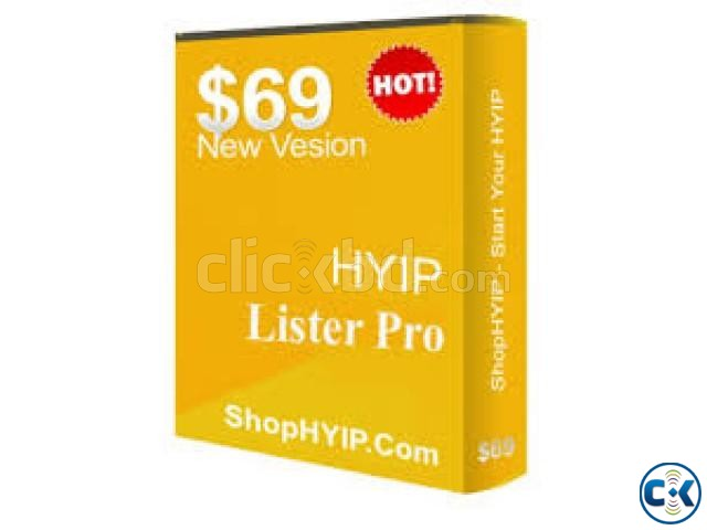 hyip script selling | ClickBD large image 1