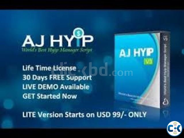hyip script selling | ClickBD large image 4