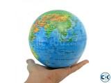 Magic Rotate Globe World Map-
