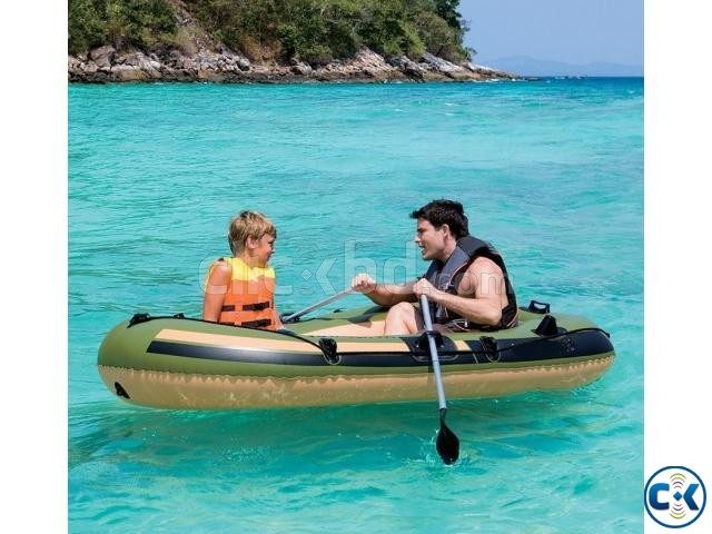 Portable Sports Travel Ruber Boat | ClickBD large image 0