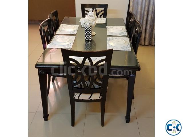 Hatil 6 Seater Dining Set Clickbd