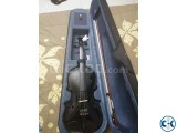 WOODS jet black violin for sale
