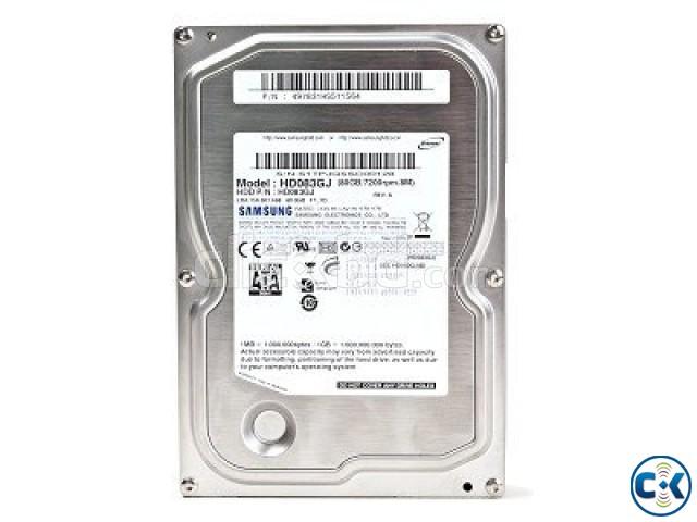 SAMSUNG DESKTOP HARD DISK 80GB SATA | ClickBD large image 0