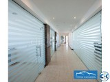Glass partition with Decoration BDGP-03