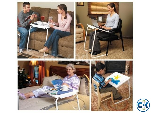 Portable Laptop Study Dinner Easy 18in1 Size Table Mate 2 | ClickBD large image 4