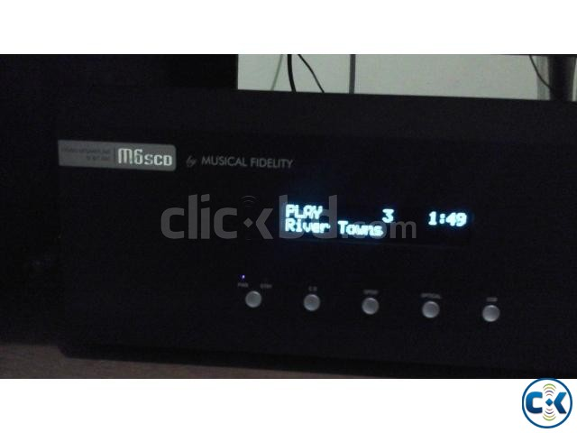 musical fidelity m6scd cd player | ClickBD large image 1