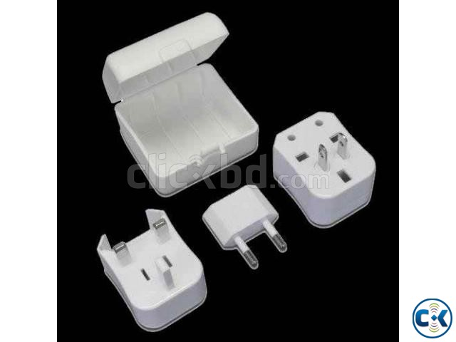 ALL IN ONE TRAVEL SOCKET | ClickBD large image 0